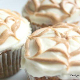 pumpkin desserts, gluten-free pumpkin, pumpkin cupcakes with cream cheese frosting