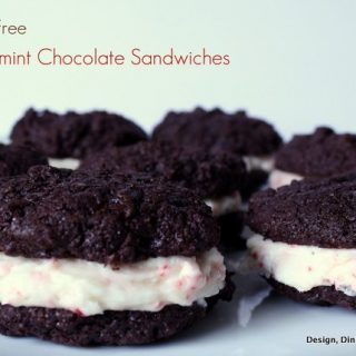 Gluten-Free Peppermint Chcolate Sandwhices