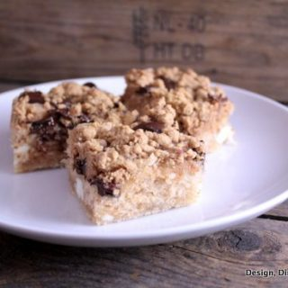Chocolate Chunk Cream Cheese Coffee Cake