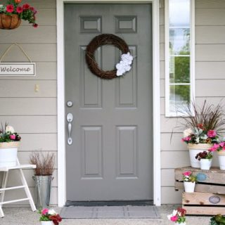 porch makeover, DIY porch, budget porch