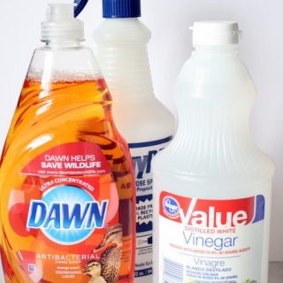 Pinterest Cleaning Tip Tested – DIY Dawn Shower Cleaner