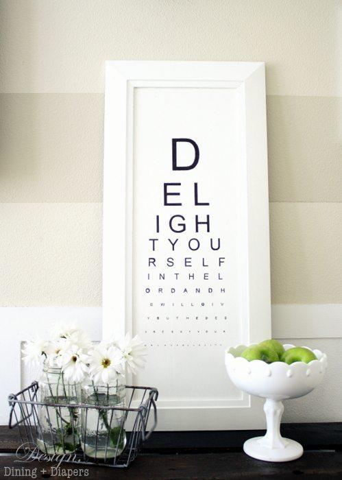 Diy Eye Chart Tutorial Taryn Whiteaker