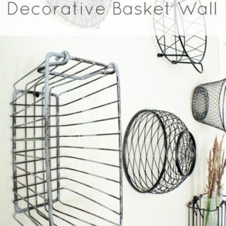Decorative Basket Wall Reveal