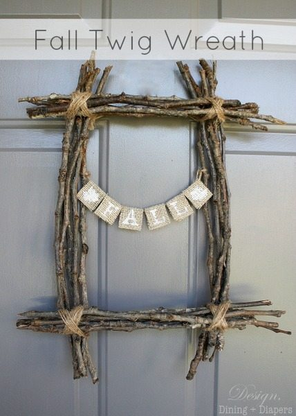 Fall Twig Wreath Taryn Whiteaker