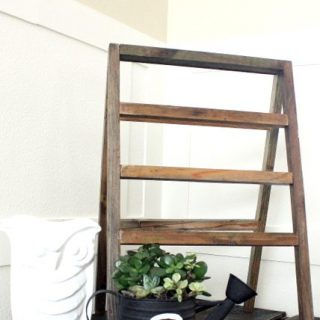 How To Make A Vintage-Inspired Mini Ladder