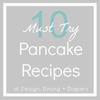 10 Must Try Pancake Recipes, unique pancakes, gluten-free