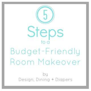 5 Steps to A Budget Friendly Room Makeover
