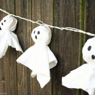 Illuminated Ghost Garland