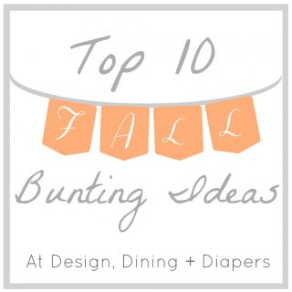 Top 10 Fall Bunting and Garland Ideas