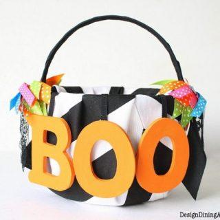 A Boo-tiful Halloween Basket