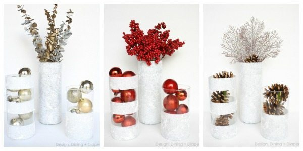 Winter Vases Using Dollar Store Finds Taryn Whiteaker