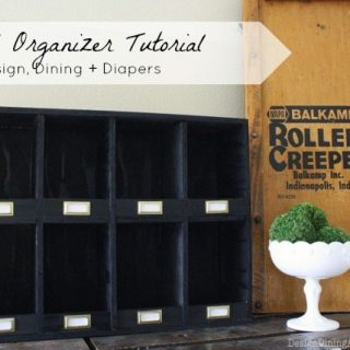 Vintage-Inspired Mail Organizer Tutorial