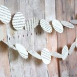 Book Page Garland For All Seasons