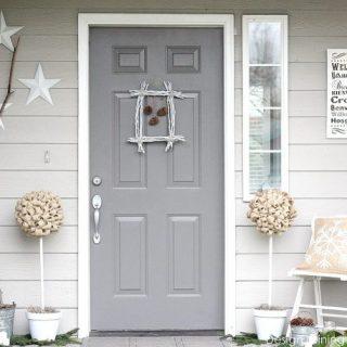 Winter White Porch