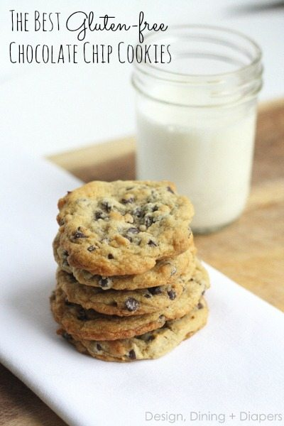 Gluten-Free Chocolate Chip Cookies by Design, Dining + Diapers