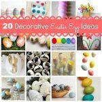 20 Decorative Easter Egg Ideas