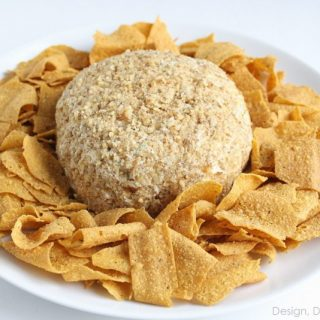 Cream Cheese Ball Recipe And Green Giant Veggie Chips