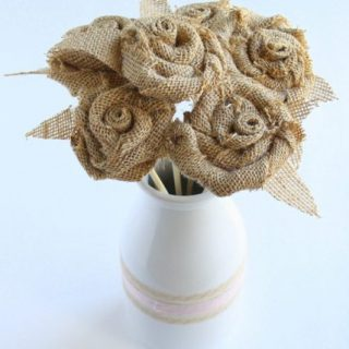 Burlap Bouquet Tutorial