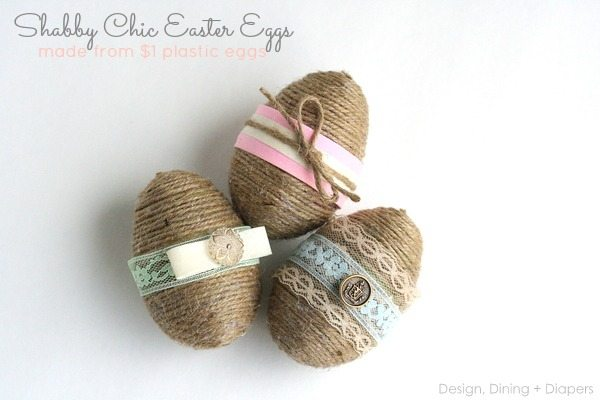 Today, I'm going to show you how easy it is to transform a dollar store plastic eggs item into a cute and inexpensive Easter Decor.
