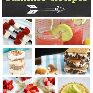 16 Easy Summer Recipes (Link Party Features)