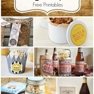 Father's Day Gift Ideas and Free Printables