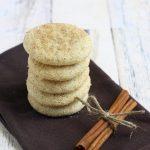 Gluten Free Dairy Free Snickerdoodle Recipe