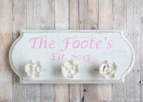 Wedding Gift Idea: Custom Family Signs - Taryn Whiteaker