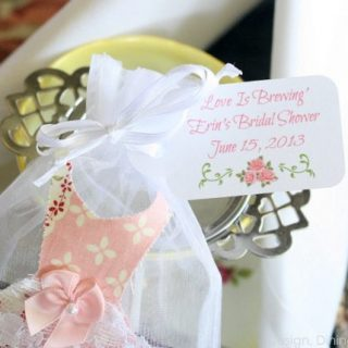 Tea Party Bridal Shower and Printables