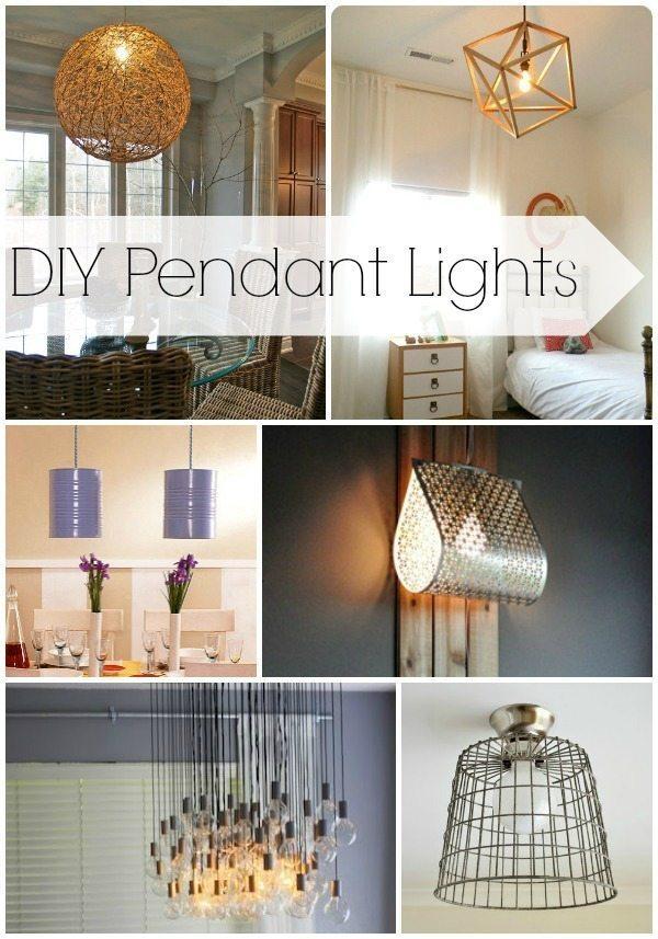 Diy pendant lights lights that look amazing dont break the bank diy pendant lights lighting fixtures aloadofball Gallery