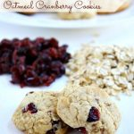 Gluten Free Oatmeal Cranberry Cookies
