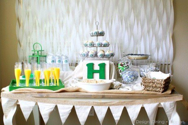 Emerald Gender Neutral Baby Shower Taryn Whiteaker