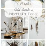Fall Decorating Ideas With Feathers