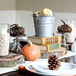 Eclectic Fall Tablescape