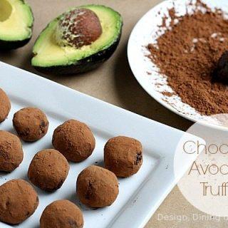 Chocolate Avocado Truffles