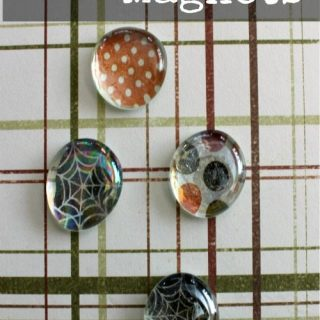 DIY Halloween Magnets With Wait Til Your Father Gets Home