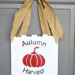 Mini Pallet Autumn Door Sign