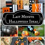 Last Minute Halloween Ideas