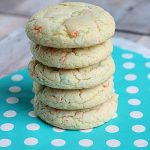 Rainbow Chip Cake Mix Cookies
