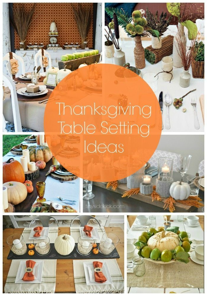 Thanksgiving Table Setting Ideas thanksgiving table setting ideas - taryn whiteaker