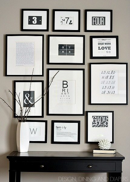 photo about Free Printable Black and White Images called Cost-free Black and White Printables - Taryn Whiteaker