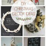 DIY Christmas Decor Ideas (Link Party Features)