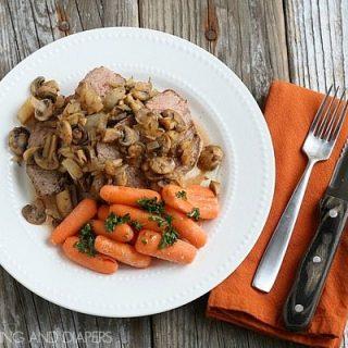 Tuscan Slow Cooker Rump Roast