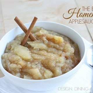 The Best Homemade Applesauce Recipe