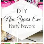 DIY New Years Eve Party Favors