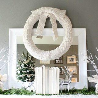 Winter White Vignette