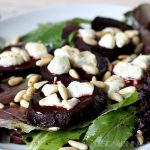 Warm Beet Salad With Goat Cheese