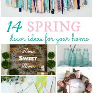14 Spring Decor Ideas