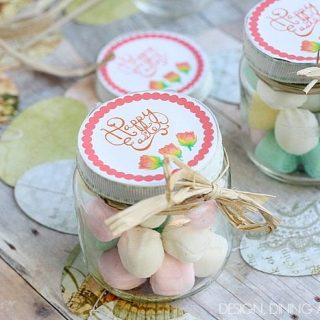 Easy Easter Favors Using Baby Food Jars
