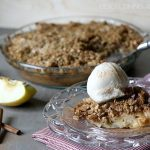 Gluten-Free Apple Crumble Pie