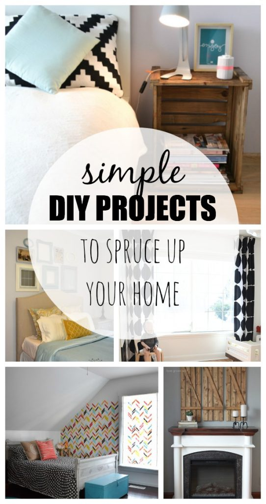 15 Simple Diy Projects To Spruce Up Your Home Taryn